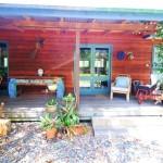 """Sanctuary Bush to Beach House"" Beachside holiday rentals Nambucca Heads near Valla Beach. Mid north coast NSW - entry"